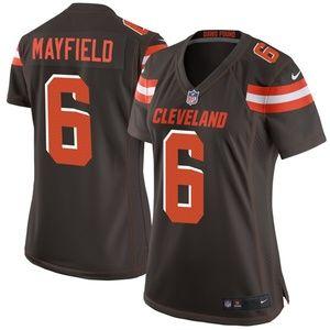 Women's Cleveland Browns Baker Mayfield 0